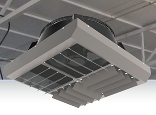 view Proton DTR - De-Stratification Ceiling Heaters products